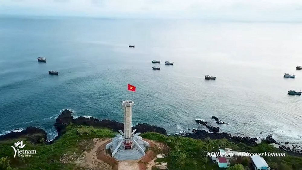 """Nation's sea and islands impress in """"Travel to love - Seas beckon"""" tourism video"""