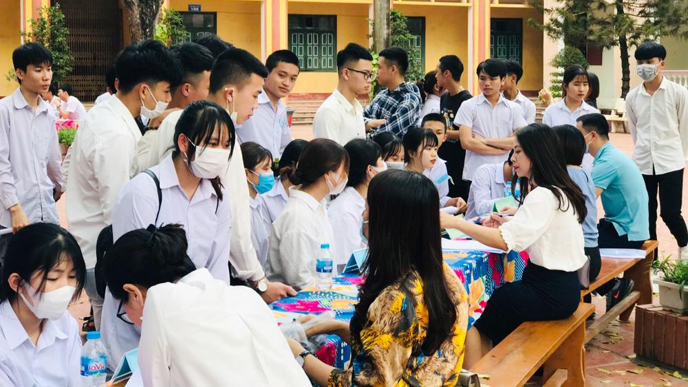 Bắc Giang, việc làm, tư vấn, định hướng nghề