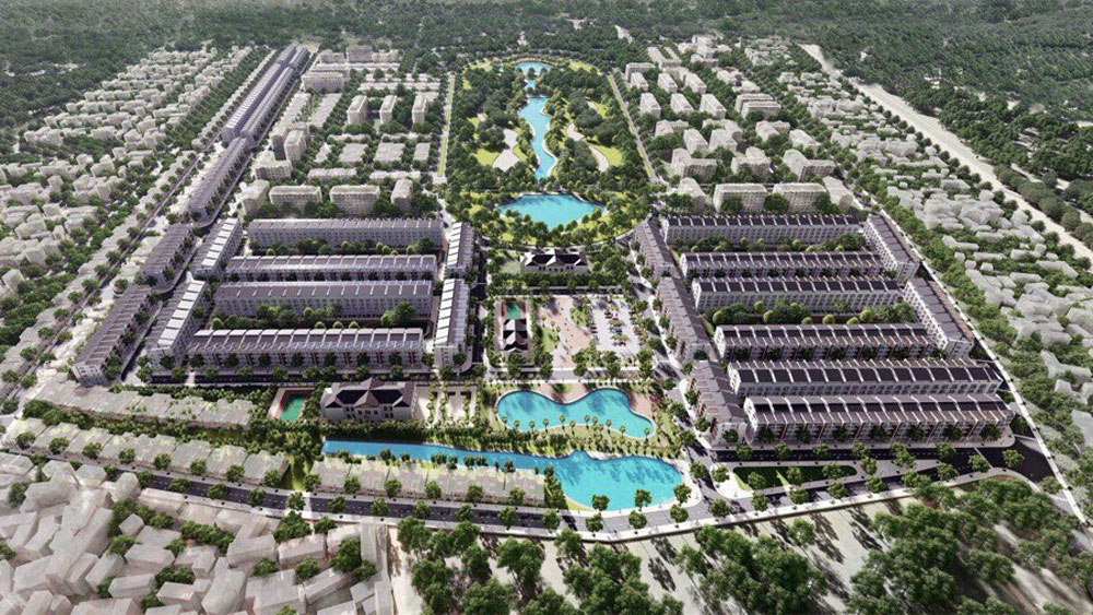 Bac Giang approves to build two urban areas covering over 60 ha