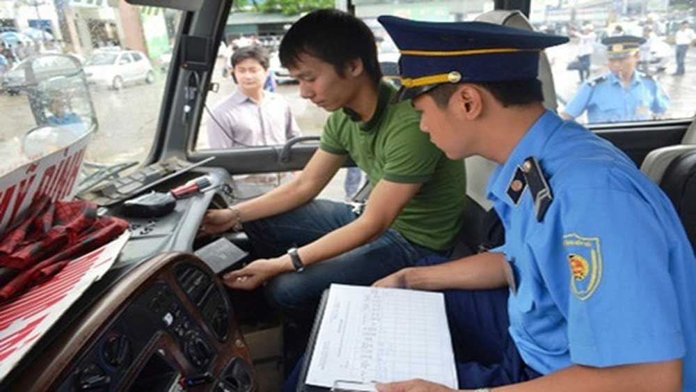 Đợt cao điểm, kiểm tra doanh nghiệp vận tải , hoạt động giám sát hành trình