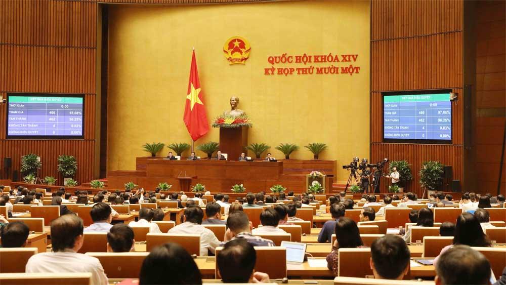 Kỳ họp thứ 11, Quốc hội khóa XIV, họp phiên bế mạc