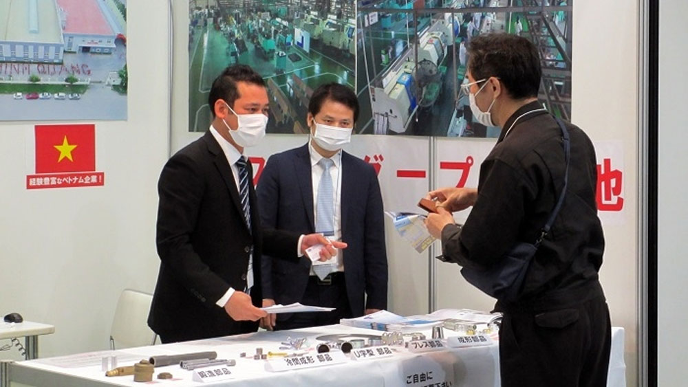 Vietnamese firms, M-Tech Nagoya exhibition, Vietnamese businesses, good chance, Covid-19 pandemic, Vietnamese enterprises
