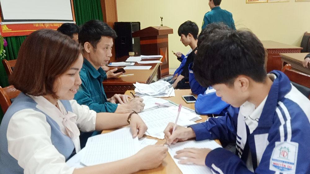 Việt Yên: Hơn 1 nghìn thanh niên tuổi 17 đăng ký sẵn sàng nhập ngũ