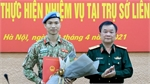 Third Vietnamese military officer to work at UN headquarters