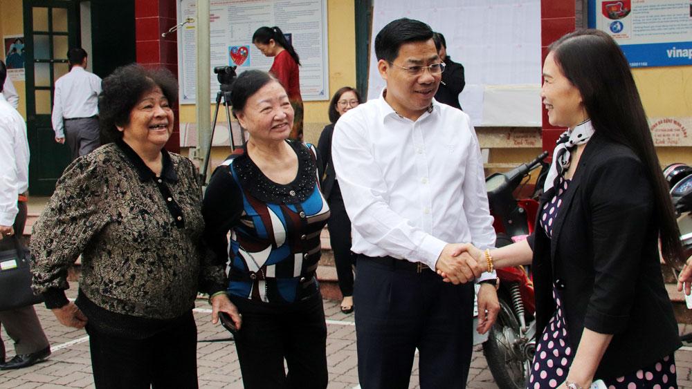 Bí thư Tỉnh ủy Dương Văn Thái được cử tri nơi cư trú tín nhiệm cao, giới thiệu ứng cử ĐBQH và HĐND tỉnh Bắc Giang