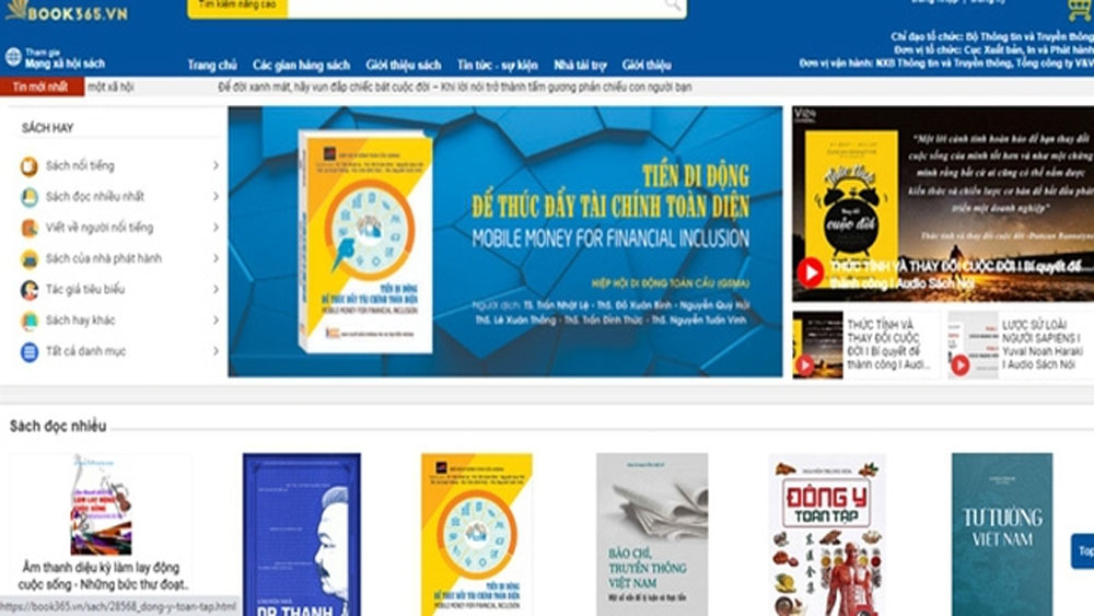 National Online Book Festival, Vietnam Book Day, technological platforms, exchange activities, publishing houses