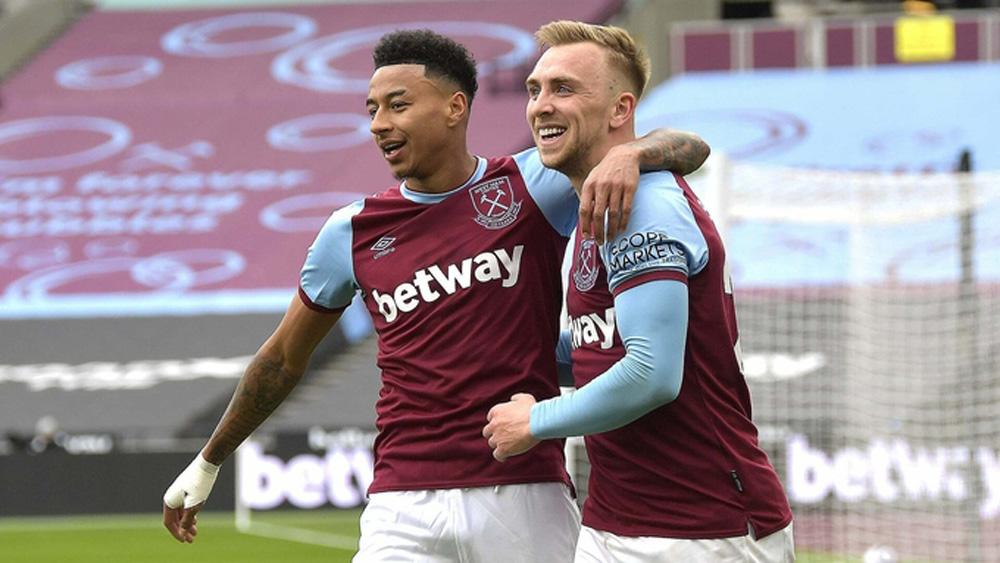 Lingard đưa West Ham trở lại top 4