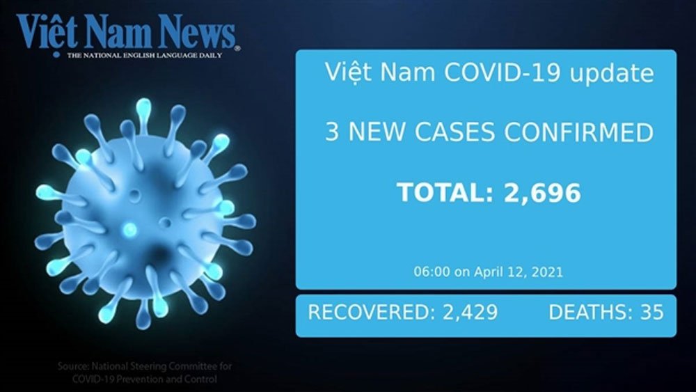 Three new imported cases, Monday morning, Covid-19 pandemic, global pandemic, no community infection