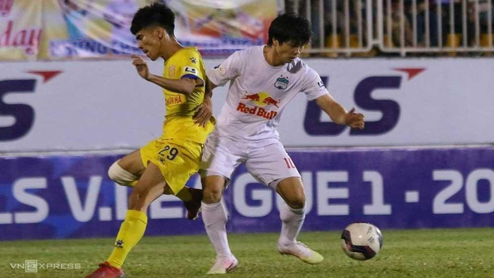 HAGL thắng Nam Định 4-3; SLNA thắng Becamex Bình Dương 2-0