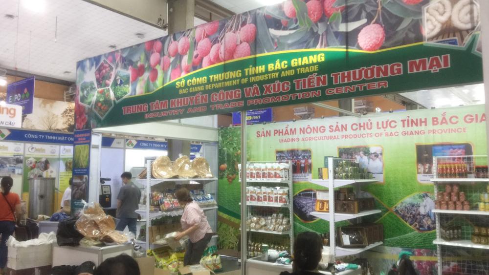 Bắc Giang có 2 gian hàng tham gia Hội chợ Vietnam Expo lần thứ 30