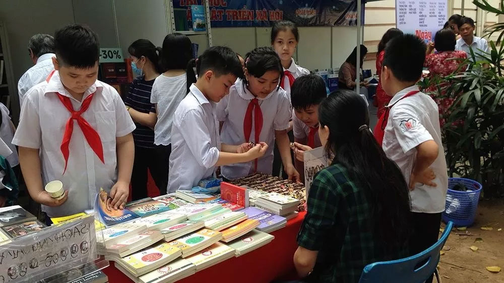 Book festival, Vietnam National Library, Reading Culture, World Book and Copyright Day, Path to knowledge