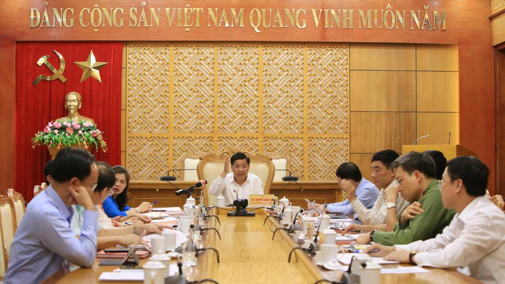 Bí thư Tỉnh ủy Dương Văn Thái: Tập trung cao chỉ đạo, tổ chức thành công cuộc bầu cử ĐBQH và đại biểu HĐND các cấp