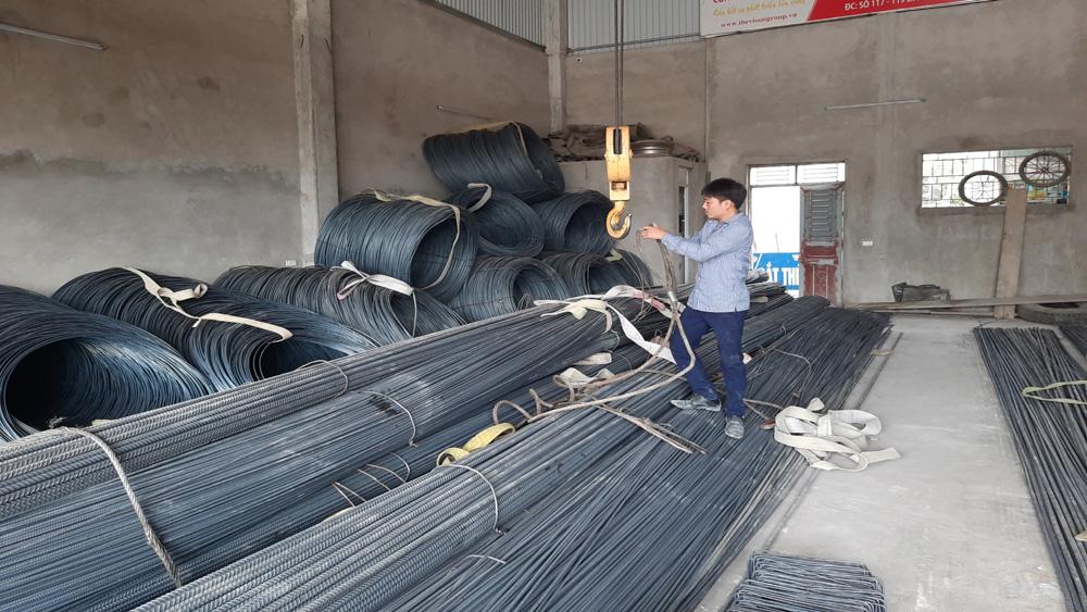 Bắc Giang: Giá thép biến động làm tăng chi phí xây dựng