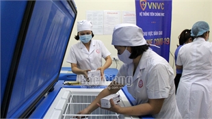 Bac Giang to organize second vaccination against Covid-19 from April 17