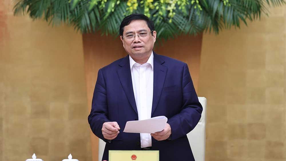 Thủ tướng Chính phủ Phạm Minh Chính: Chính phủ cần bắt tay ngay vào công việc, phát huy thành tích, kết quả đạt được