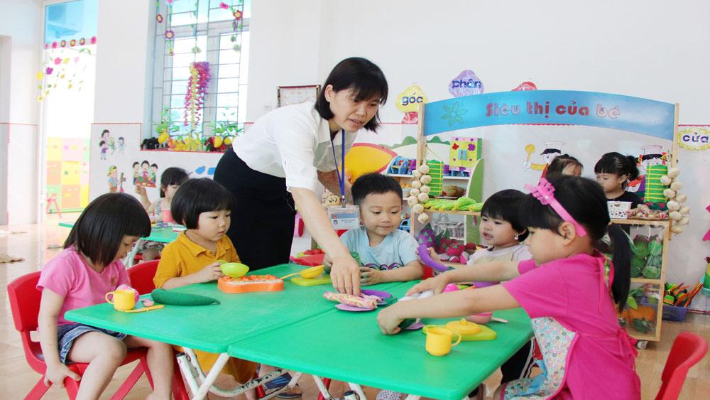 Việt Yên: Nâng cao chất lượng giáo dục mầm non địa bàn khu công nghiệp