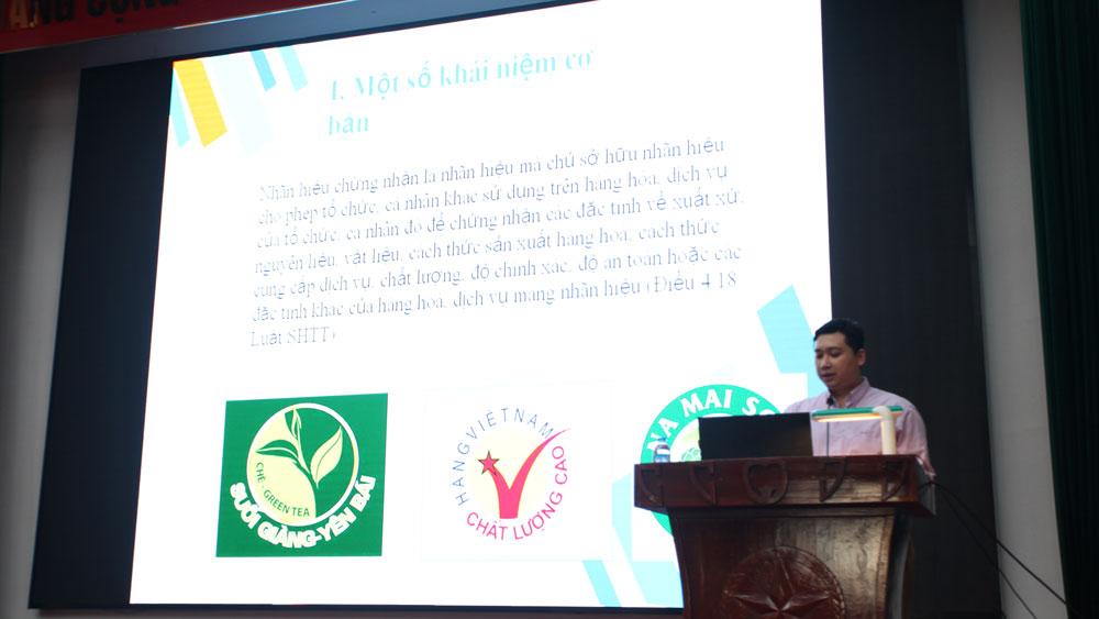 Lục Nam: Tập huấn sở hữu trí tuệ về nông sản, sản phẩm đặc trưng