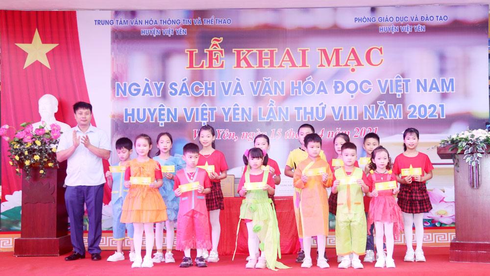 Bắc Giang, Việt Yên, khai mạc, ngày sách
