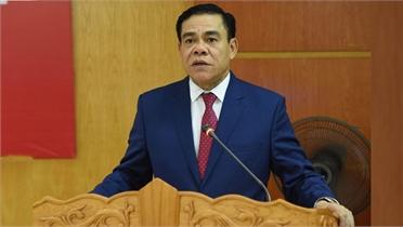 Giám đốc Công an tỉnh Nghệ An được giới thiệu để bầu Chủ tịch UBND tỉnh Hà Tĩnh