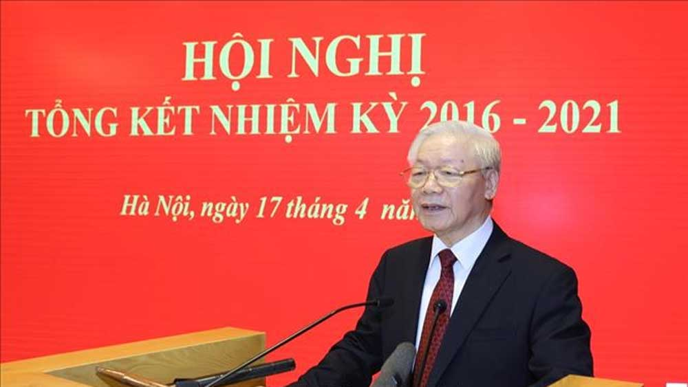 Tổng Bí thư dự Hội nghị tổng kết nhiệm kỳ 2016-2021 của Hội đồng Lý luận Trung ương