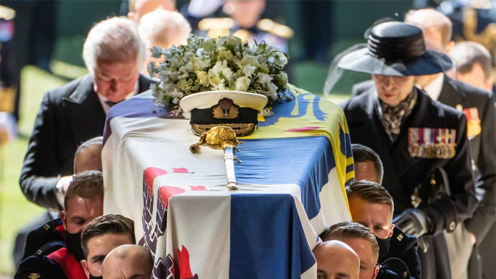 Vương quốc Anh tiễn đưa Hoàng thân Philip