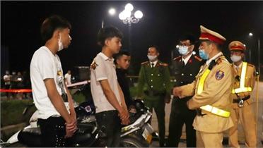 Ngăn chặn thanh, thiếu niên vi phạm an toàn giao thông