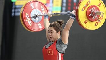 Hoàng Thị Duyên đoạt Huy chương Đồng cử tạ châu Á