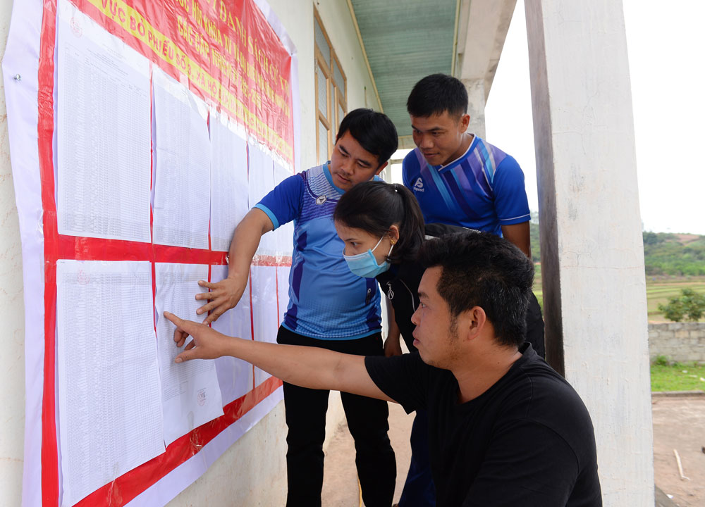Lục Ngạn, Bắc Giang, bầu cử, đại biểu Quốc hội, ngày hội lớn