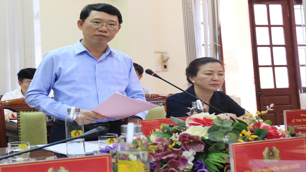 Bắc Giang: Kinh tế tăng không để tăng tội phạm