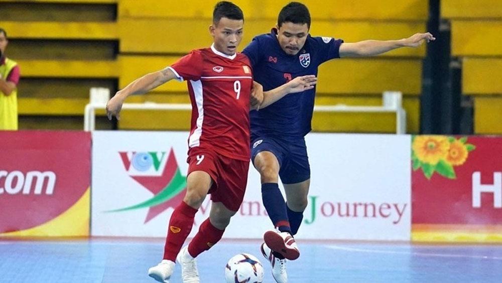 Vietnam, vie for slot, FIFA Futsal World Cup, futsal team, Vietnam Football Federation,  play-off round, performance of teams