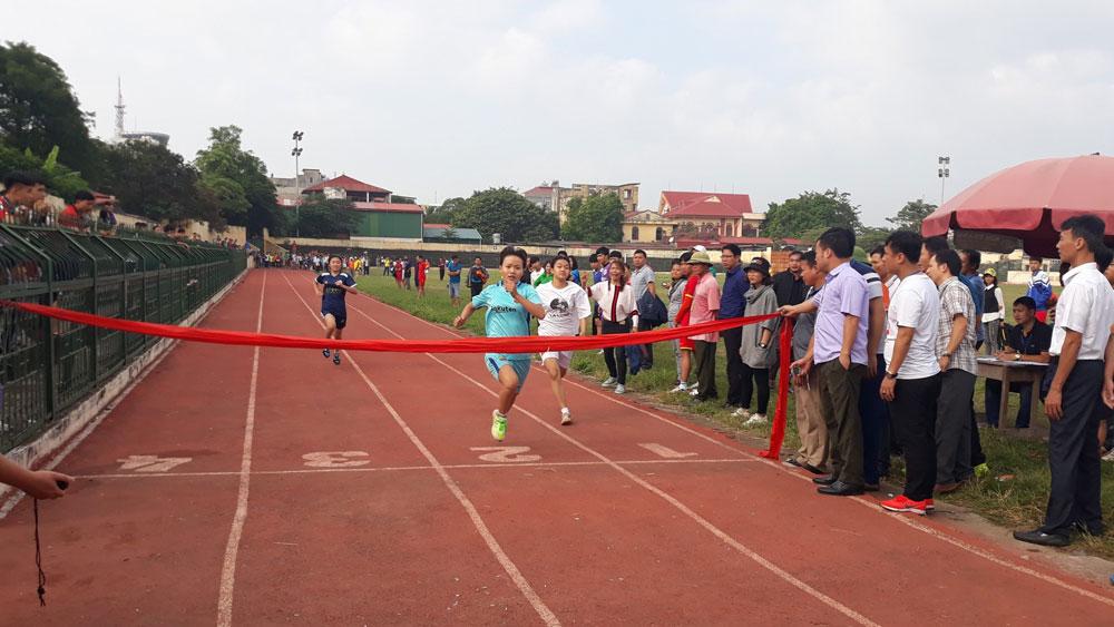 hội khỏe phù đổng, thể thao học đường, Bắc Giang, Lục Nam.