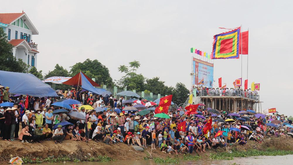 Hiệp Hòa, Bắc Giang, bơi chải, Mai Đình.