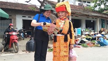 Bắc Giang: 100% cơ sở đoàn xã, phường, thị trấn triển khai tuyên truyền về bầu cử