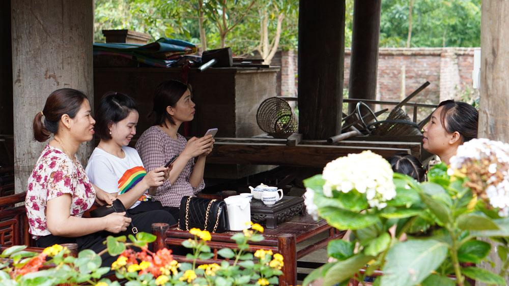 Ven village, attractive tourist destination, Bac Giang province, discovery sites, tourism development, community based tourism