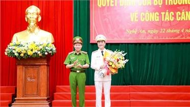 Điều động Giám đốc Công an tỉnh Bắc Ninh làm Giám đốc Công an tỉnh Nghệ An