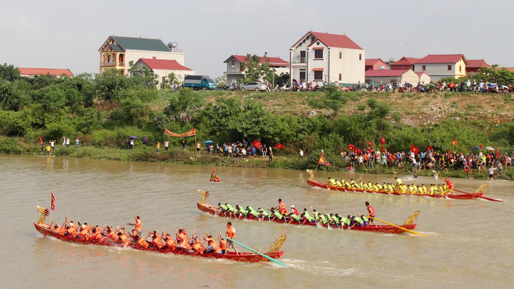 Unique rowing festival in Mai commune