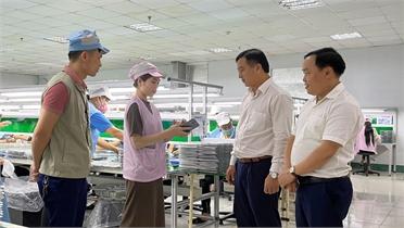 Đảng bộ Khối DN tỉnh Bắc Giang: Xây dựng điển hình trong cấp ủy, việc tốt tiêu biểu trong đảng viên