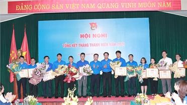 Tỉnh đoàn Bắc Giang được tặng Bằng khen vì có thành tích xuất sắc trong Tháng Thanh niên 2021