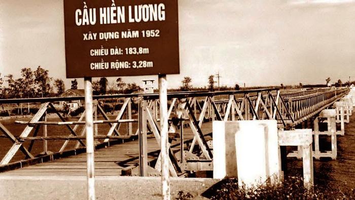 Cầu Hiền Lương - Biểu tượng khát vọng thống nhất non sông
