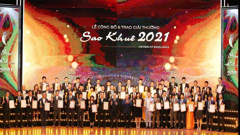 Giải thưởng Sao Khuê vinh danh 180 giải pháp, sản phẩm công nghệ thông tin
