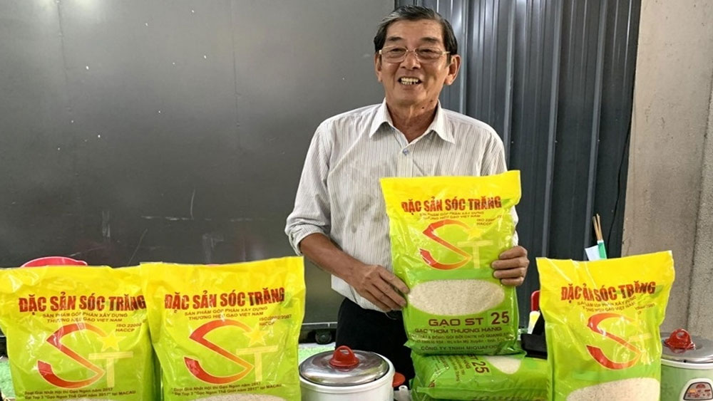 """Impossible for foreign enterprises to trademark Vietnamese rice """"ST25"""""""