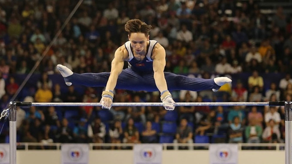 Gymnast Dinh Phuong Thanh, sixth Olympic berth, Vietnam, Tokyo Olympic Games, all-around qualification, gold medals