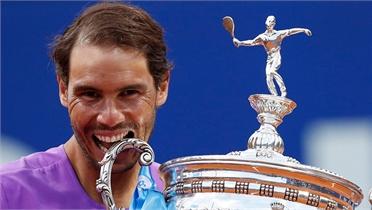 Nadal lần thứ 12 vô địch Barcelona Mở rộng