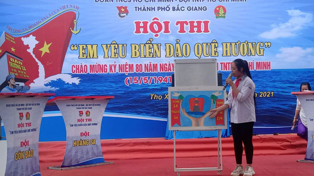 Bắc Giang: Nhiều hoạt động chào mừng ngày thành lập Đội