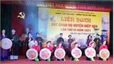 Hiệp Hòa: Liên hoan hát quan họ chào mừng bầu cử ĐBQH và đại biểu HĐND các cấp