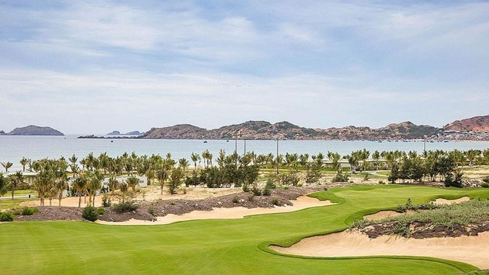 Golf tournament, Vietnam Masters, kick off, first tournament,  Vietnam Golf Association, FLC Quy Nhon golf course, professional athletes