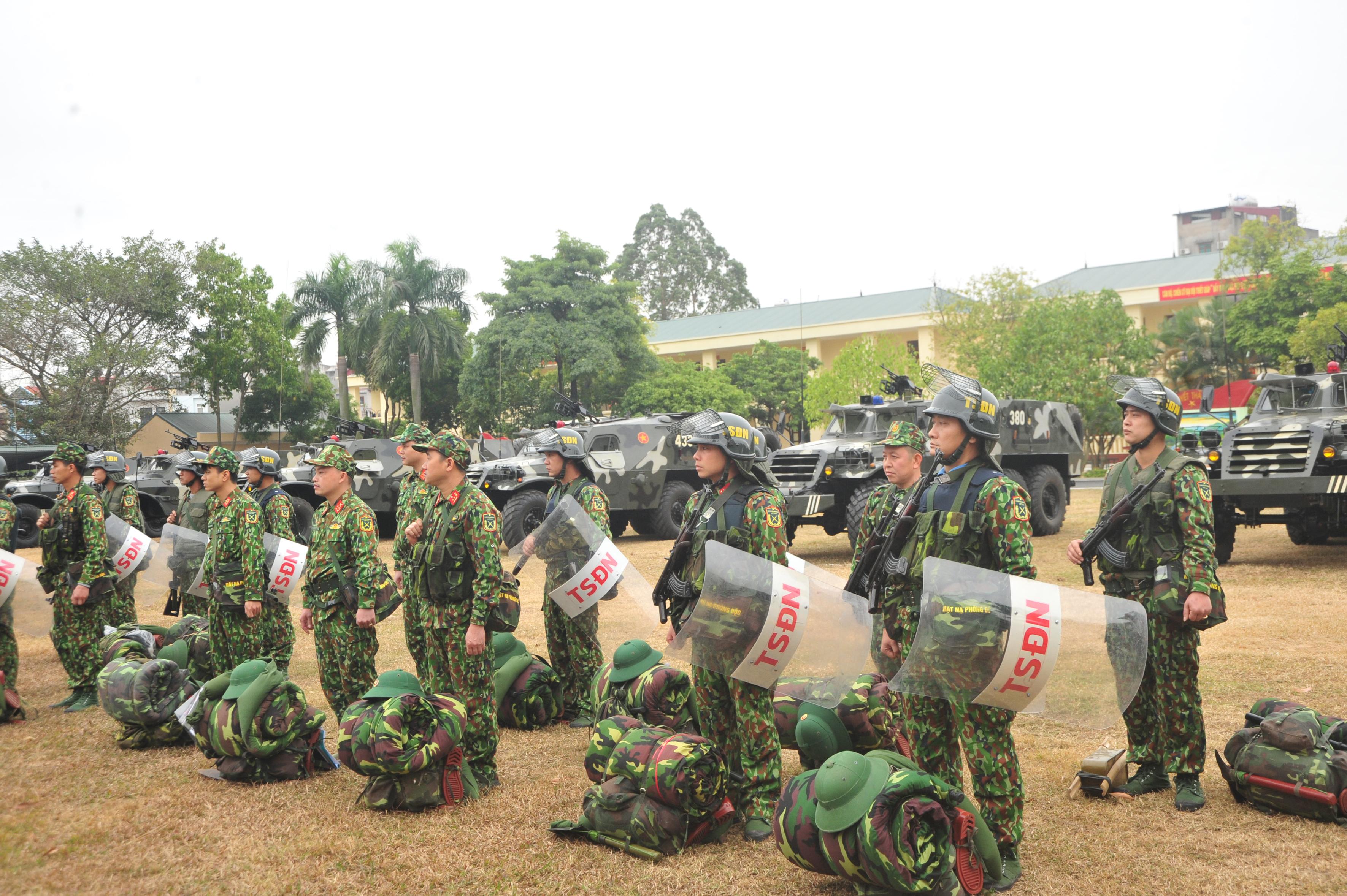 Lực lượng vũ trang tỉnh Bắc Giang, Bộ CHQS tỉnh Bắc Giang