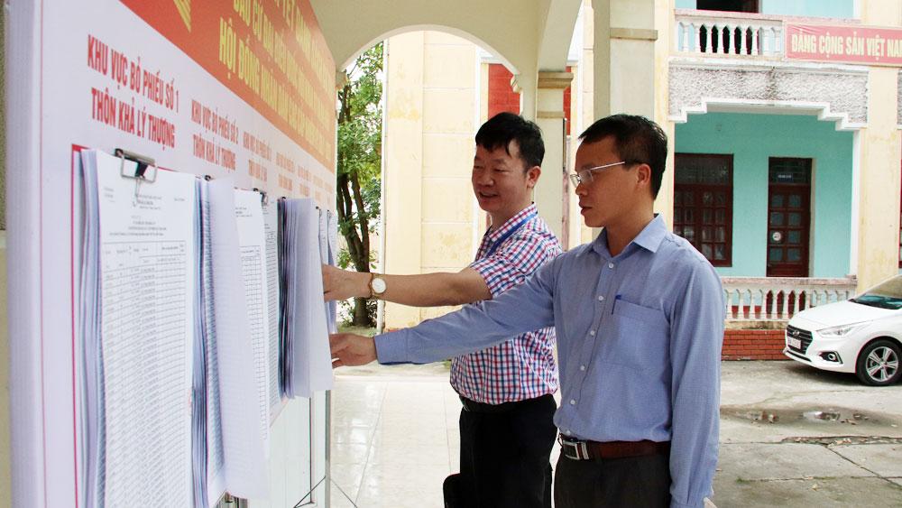 Kiểm tra, giám sát công tác bầu cử ĐBQH và đại biểu HĐND
