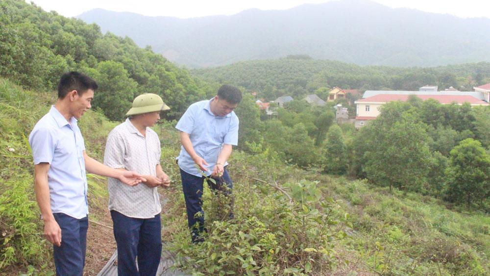Thanh Luận, Bắc Giang, thôn Náng, mốc son