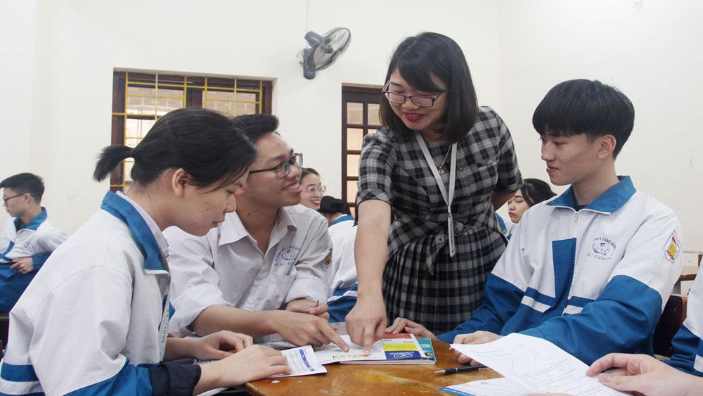 tiếng Anh, học tiếng Anh, Trường THPT Lạng Giang số 1, tỉnh Bắc Giang